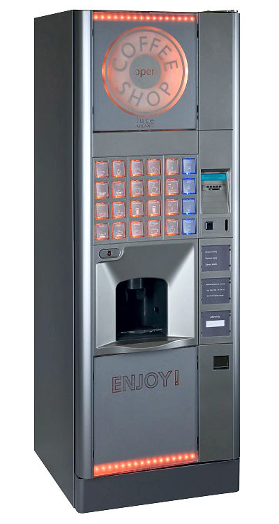 Enjoy Cafe: automat do kawy Gdańsk, automaty vendingowe pomorskie.